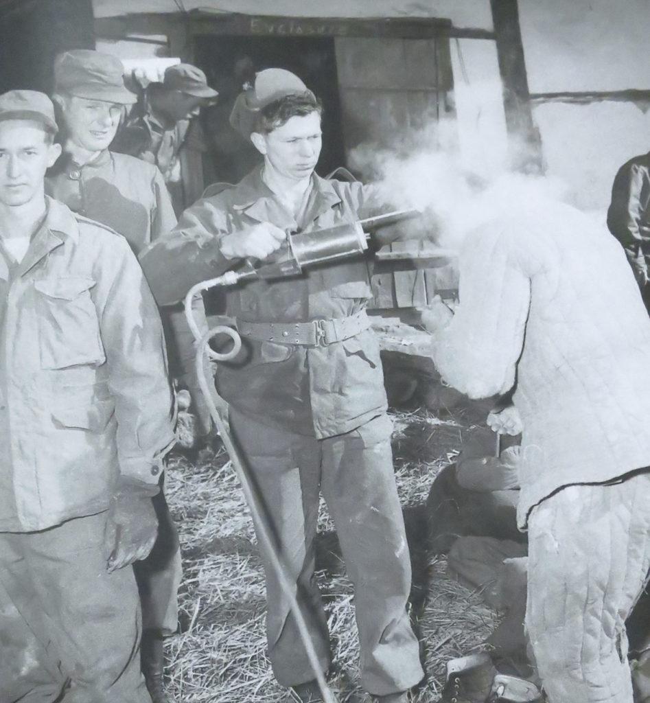 DDT emprat a Nàpols